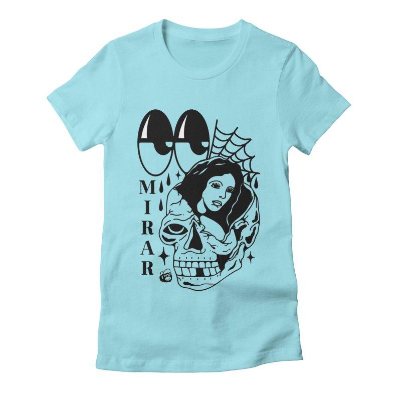 TE LLEVO Women's Fitted T-Shirt by Mico Jones Artist Shop