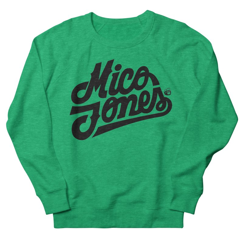 MICO JONES FIRM BLACK Women's Sweatshirt by Mico Jones Artist Shop