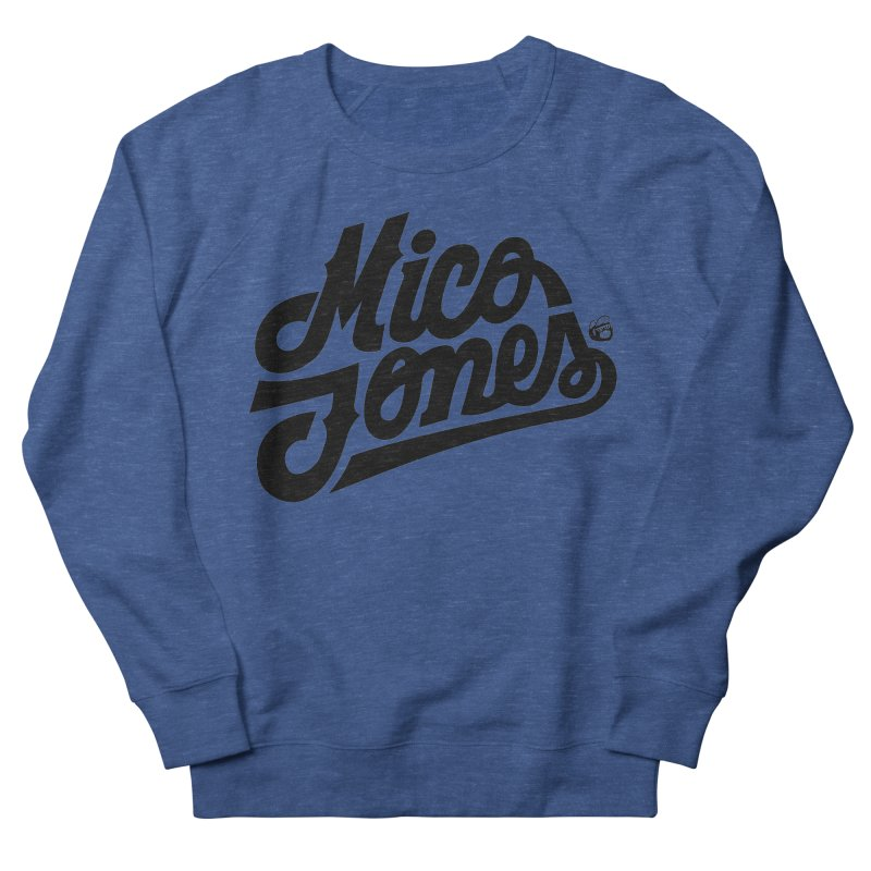 MICO JONES FIRM BLACK Men's Sweatshirt by Mico Jones Artist Shop