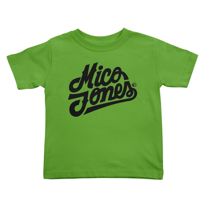 MICO JONES FIRM BLACK Kids Toddler T-Shirt by Mico Jones Artist Shop