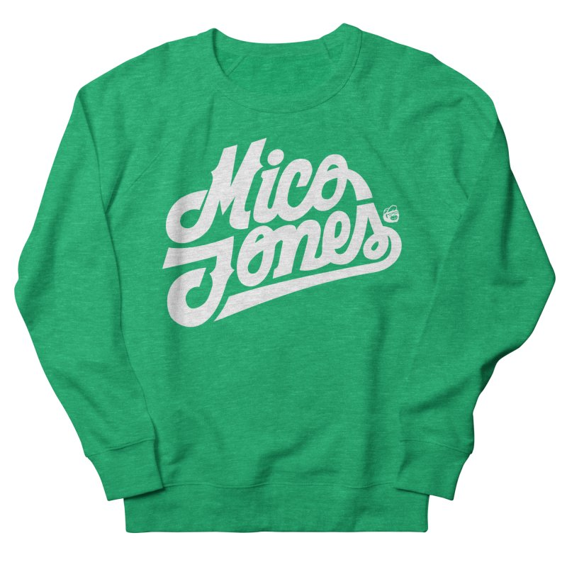 MICO JONES FIRM WHITE Women's Sweatshirt by Mico Jones Artist Shop