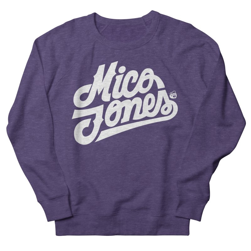 MICO JONES FIRM WHITE Men's Sweatshirt by Mico Jones Artist Shop