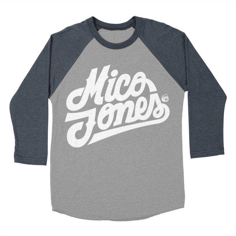 MICO JONES FIRM WHITE Women's Baseball Triblend T-Shirt by Mico Jones Artist Shop