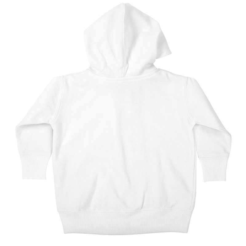 MICO JONES FIRM WHITE Kids Baby Zip-Up Hoody by Mico Jones Artist Shop