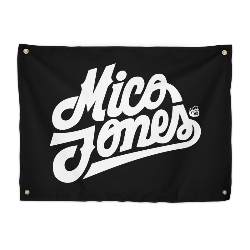 MICO JONES FIRM WHITE Home Tapestry by Mico Jones Artist Shop