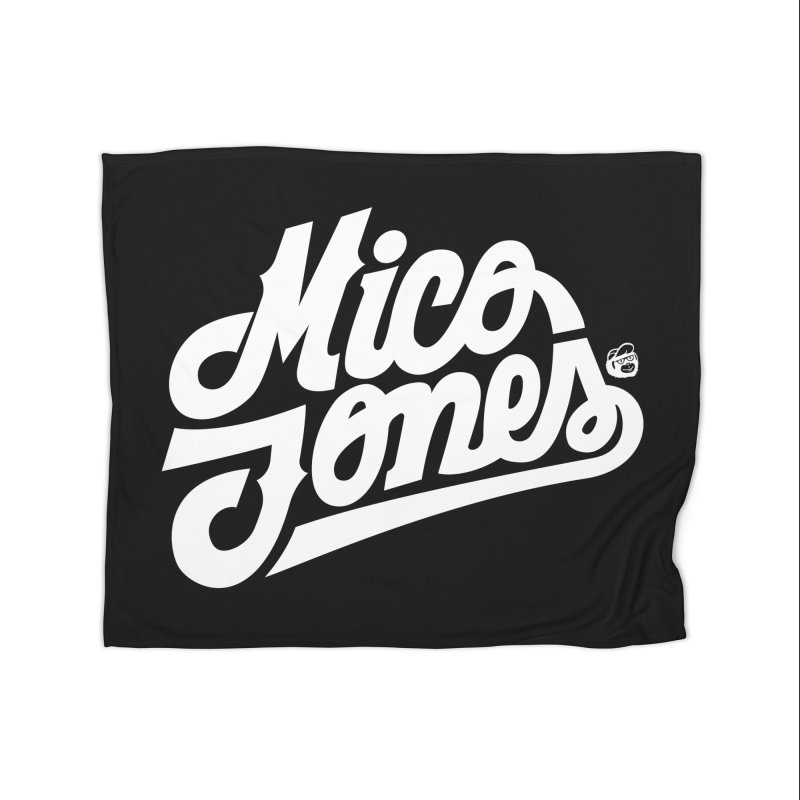 MICO JONES FIRM WHITE Home Blanket by Mico Jones Artist Shop