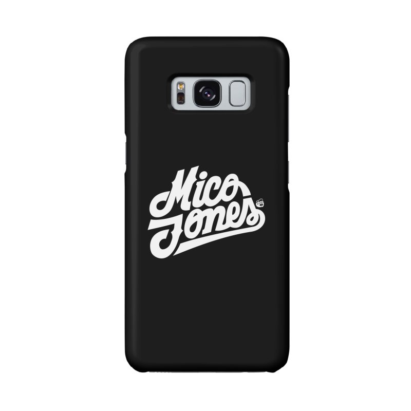 MICO JONES FIRM WHITE Accessories Phone Case by Mico Jones Artist Shop