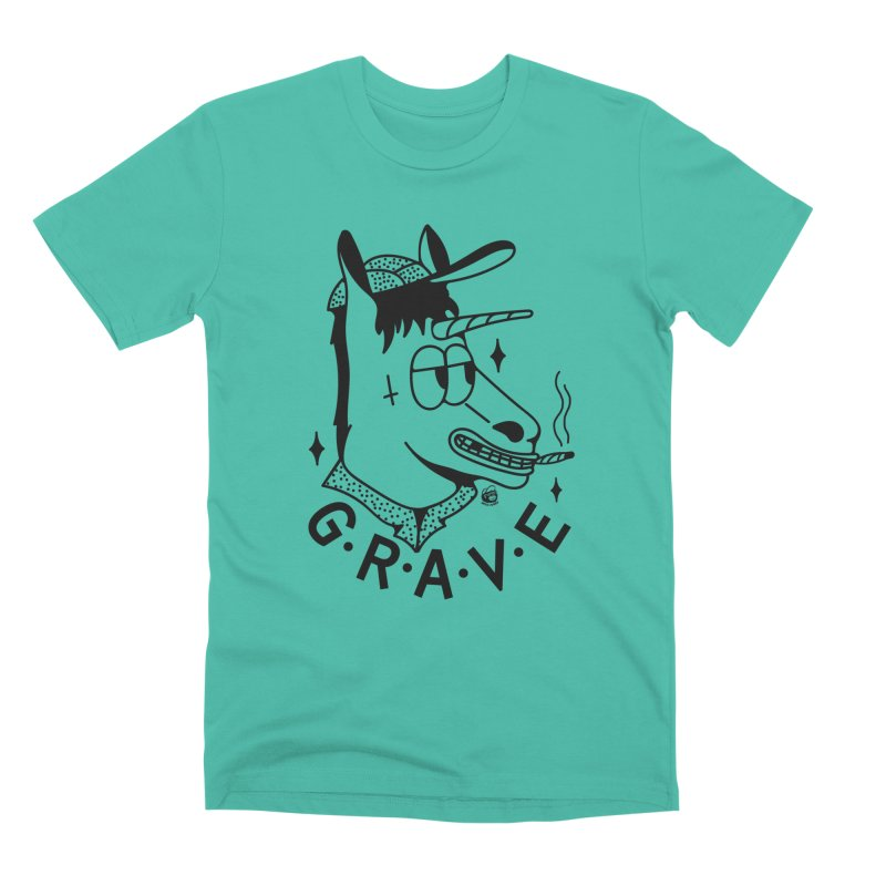 GRAVE Men's T-Shirt by Mico Jones Artist Shop