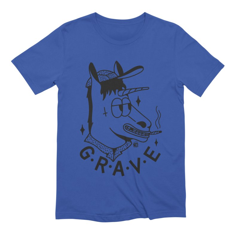 GRAVE Men's Extra Soft T-Shirt by Mico Jones Artist Shop