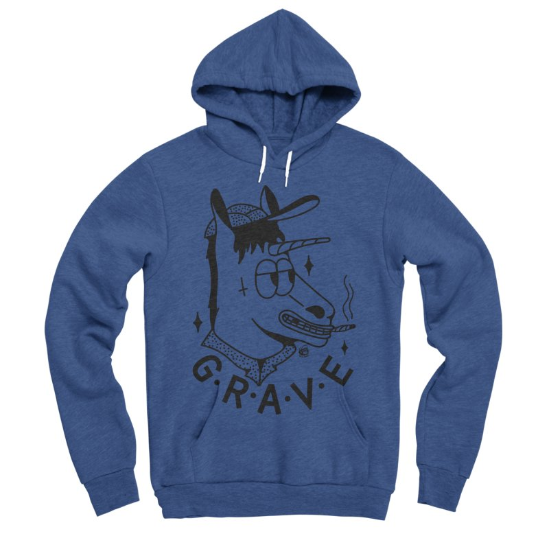 GRAVE Men's Pullover Hoody by Mico Jones Artist Shop