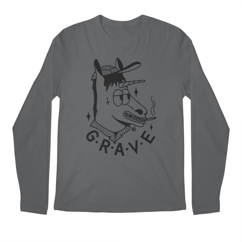 GRAVE Men's Longsleeve T-Shirt by Mico Jones Artist Shop