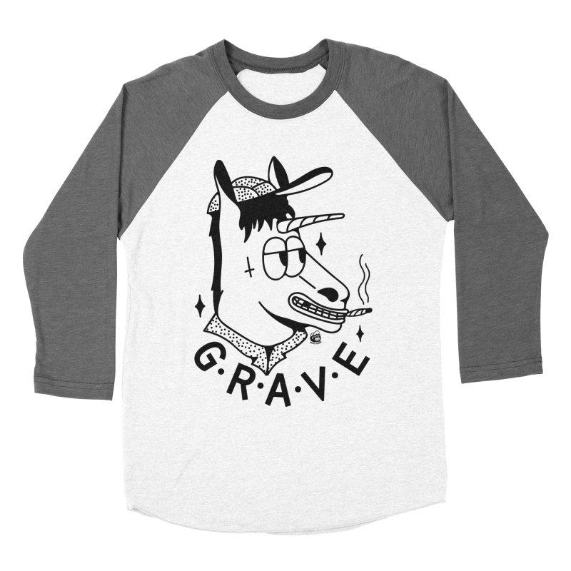 GRAVE Women's Longsleeve T-Shirt by Mico Jones Artist Shop