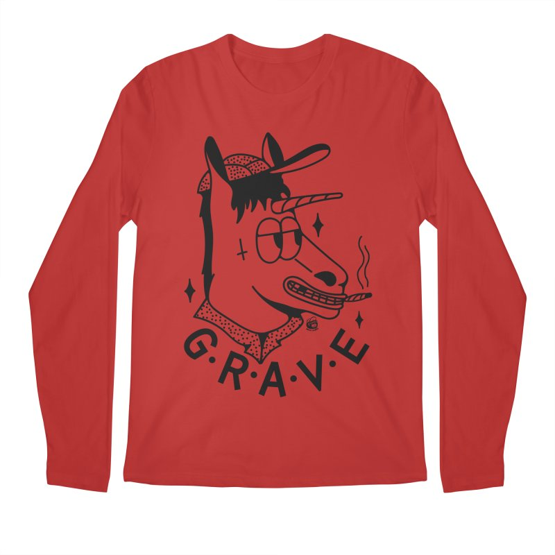 GRAVE Men's Regular Longsleeve T-Shirt by Mico Jones Artist Shop