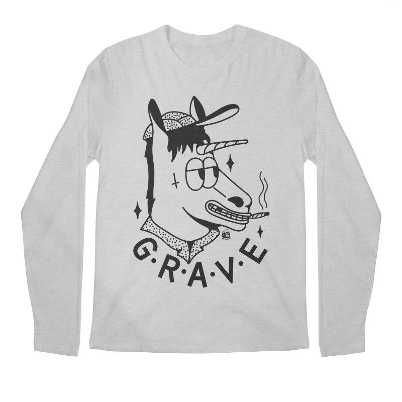 GRAVE Men's Regular Longsleeve T-Shirt by Mico Jones Artist Shop