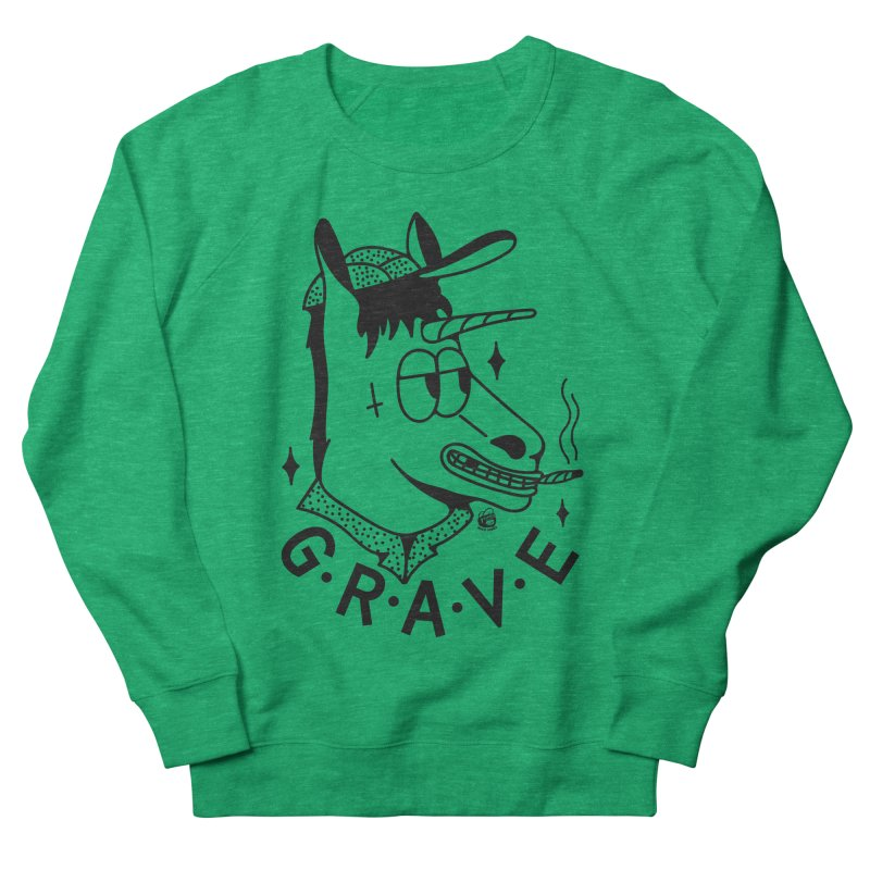 GRAVE Women's Sweatshirt by Mico Jones Artist Shop