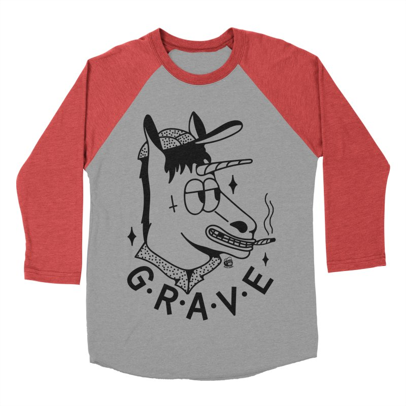 GRAVE Men's Longsleeve T-Shirt by Mico Jones Artist Shop