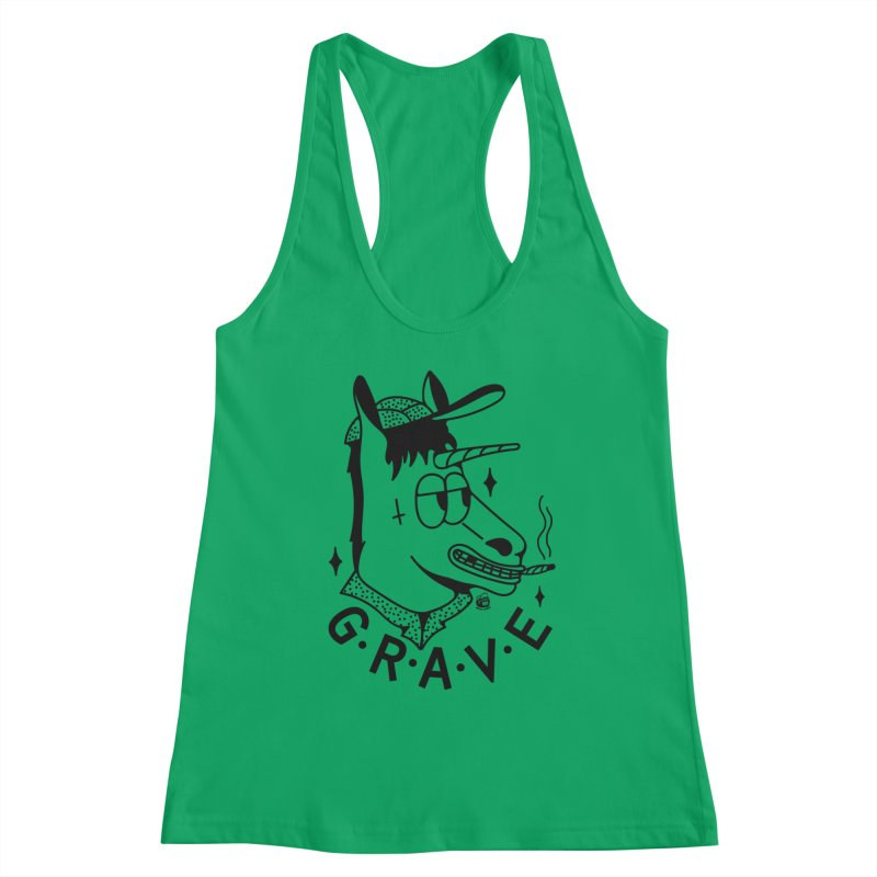 GRAVE Women's Tank by Mico Jones Artist Shop