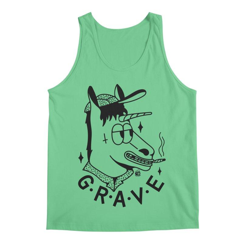GRAVE Men's Regular Tank by Mico Jones Artist Shop