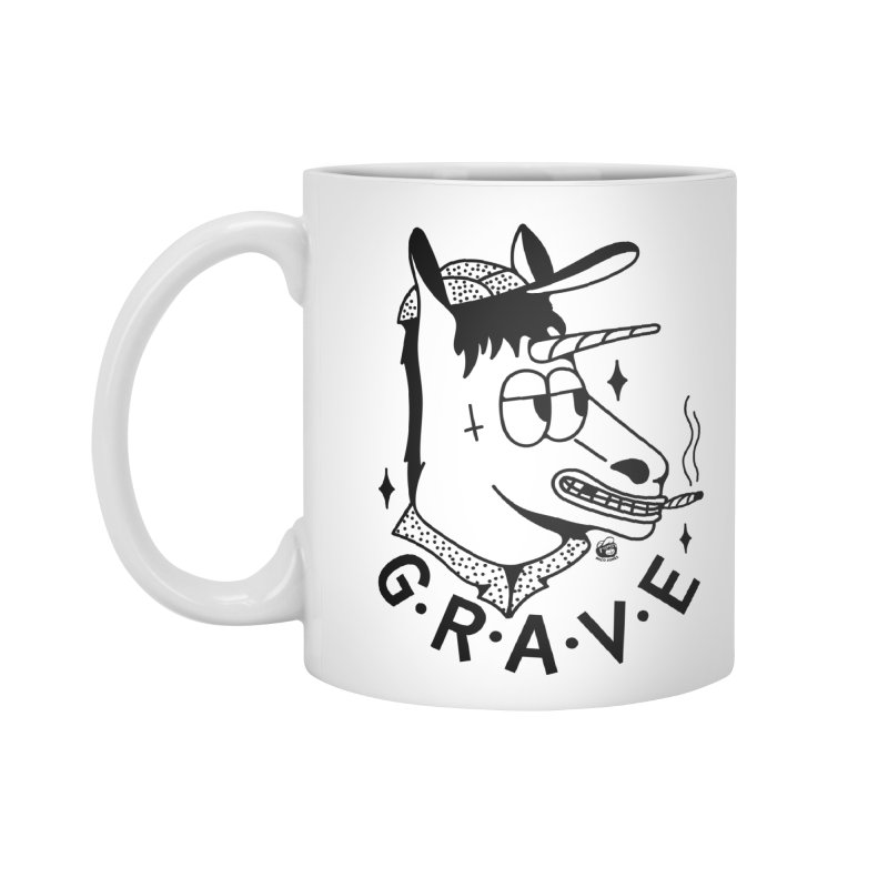 GRAVE Accessories Mug by Mico Jones Artist Shop