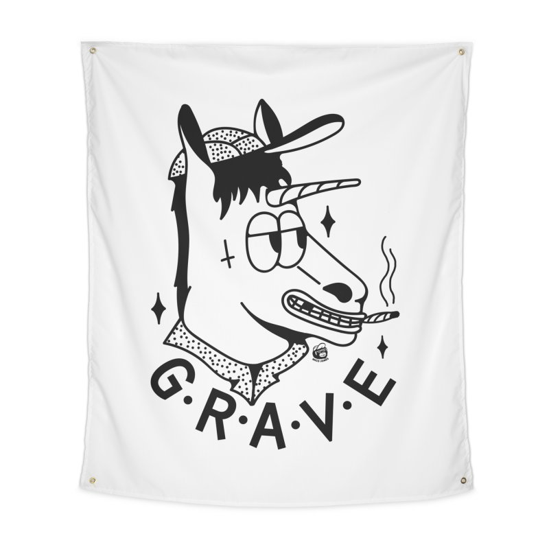 GRAVE Home Tapestry by Mico Jones Artist Shop