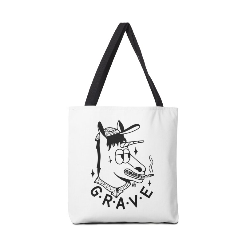 GRAVE Accessories Bag by Mico Jones Artist Shop