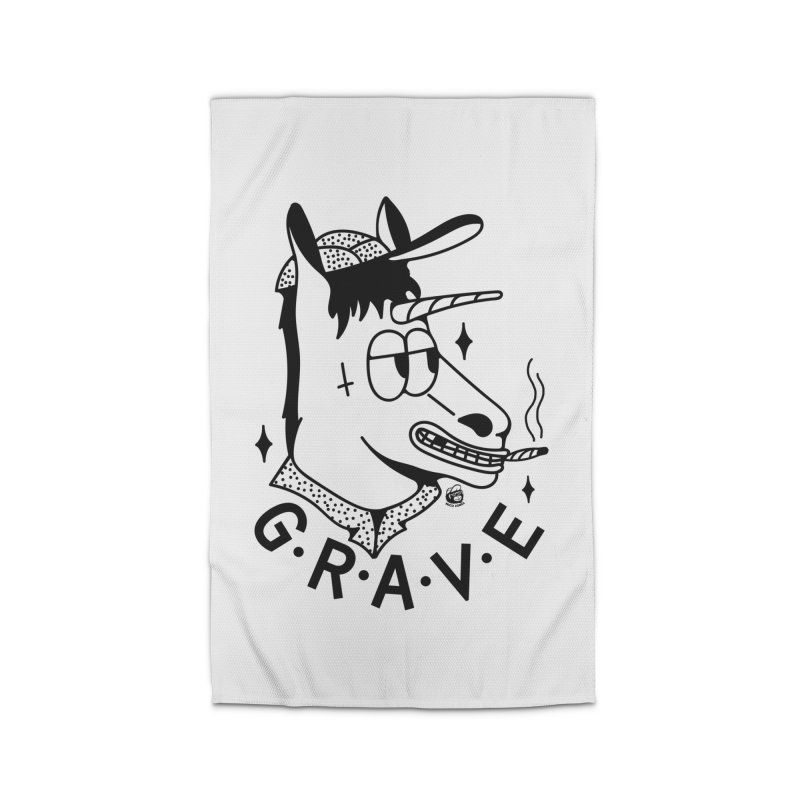 GRAVE Home Rug by Mico Jones Artist Shop