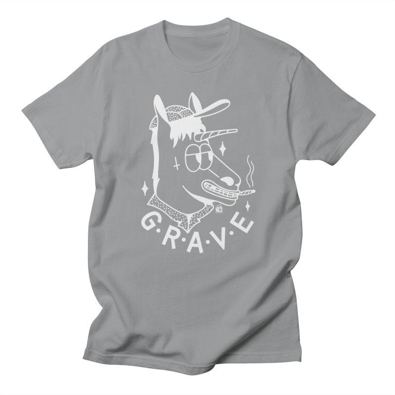 GRAVE WHITE Women's Regular Unisex T-Shirt by Mico Jones Artist Shop