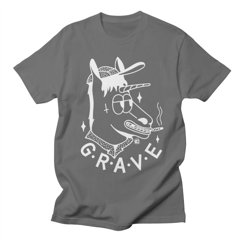 GRAVE WHITE Women's T-Shirt by Mico Jones Artist Shop