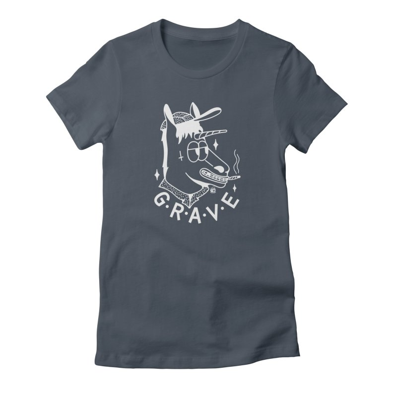 GRAVE WHITE Women's T-Shirt by Mico Jones Artist Shop