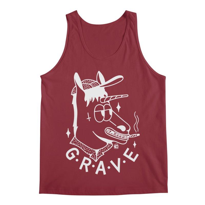 GRAVE WHITE Men's Regular Tank by Mico Jones Artist Shop