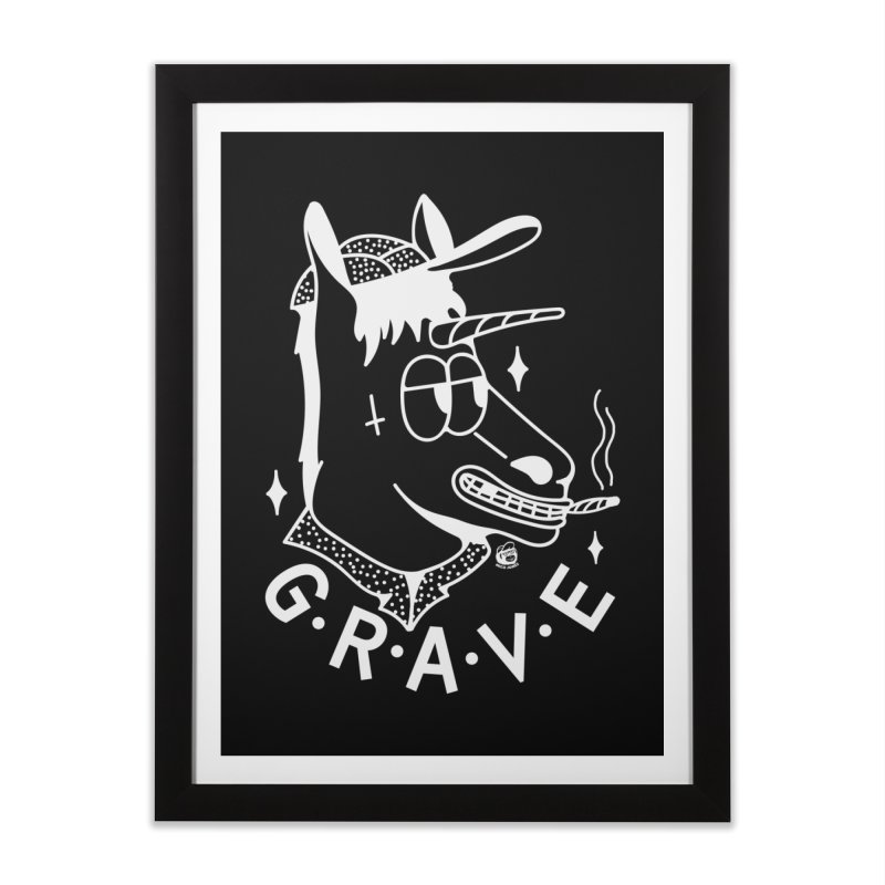 GRAVE WHITE Home Framed Fine Art Print by Mico Jones Artist Shop