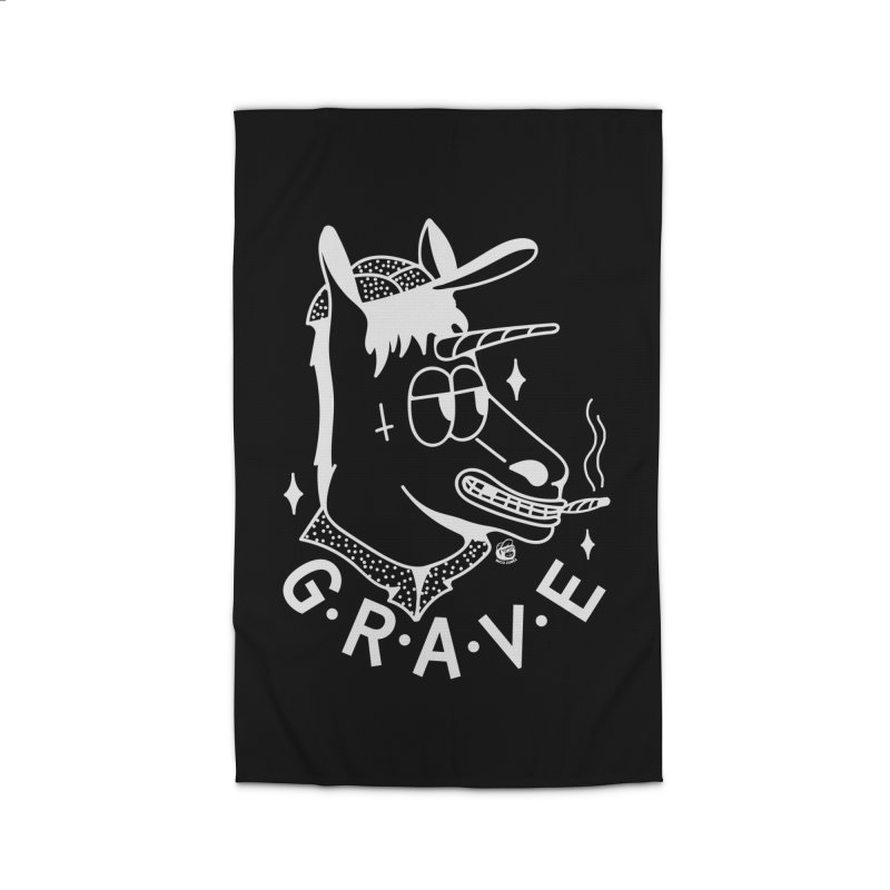 GRAVE WHITE Home Rug by Mico Jones Artist Shop