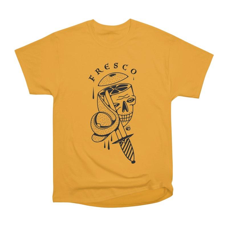 FRESCO Women's Heavyweight Unisex T-Shirt by Mico Jones Artist Shop