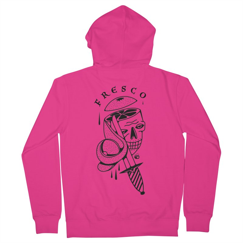 FRESCO Men's French Terry Zip-Up Hoody by Mico Jones Artist Shop