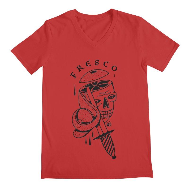 FRESCO Men's Regular V-Neck by Mico Jones Artist Shop