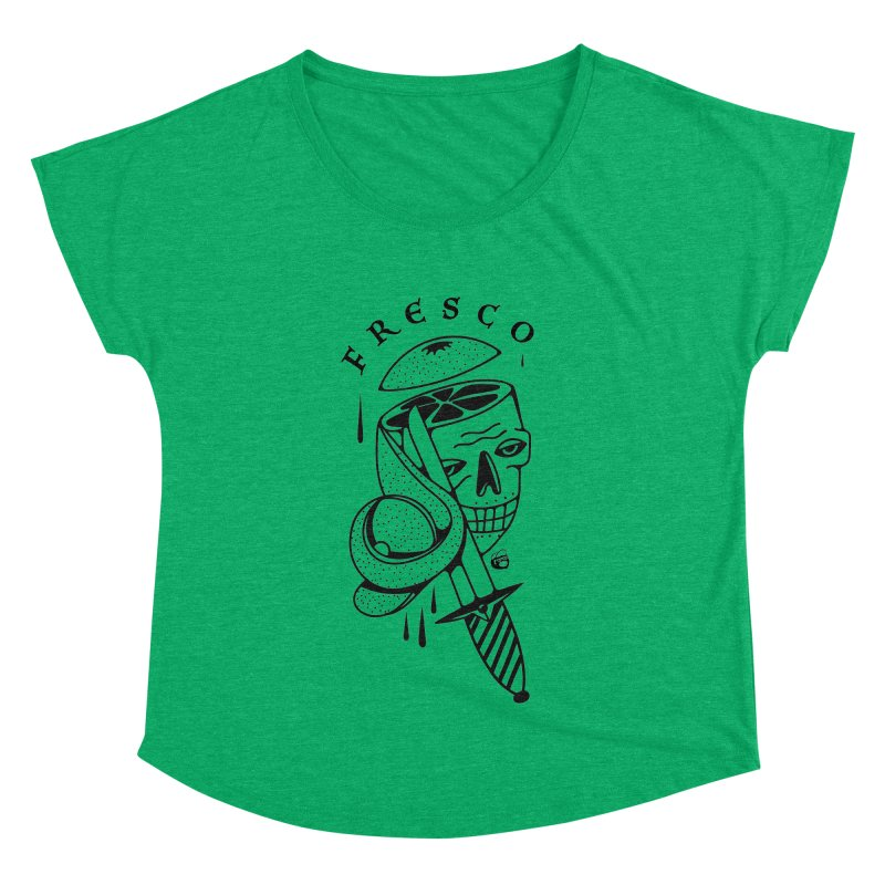 FRESCO Women's Scoop Neck by Mico Jones Artist Shop