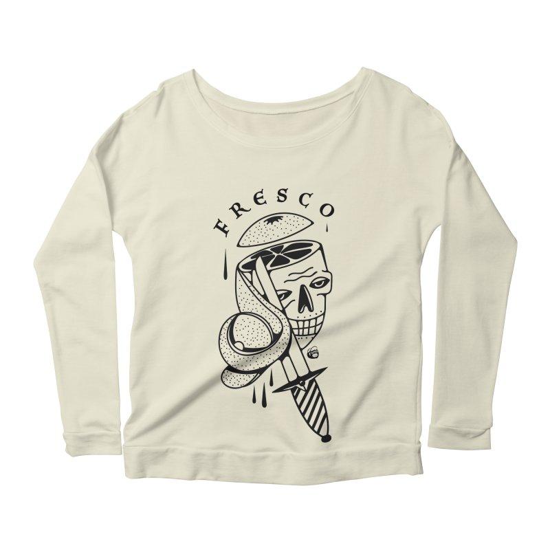 FRESCO Women's Scoop Neck Longsleeve T-Shirt by Mico Jones Artist Shop