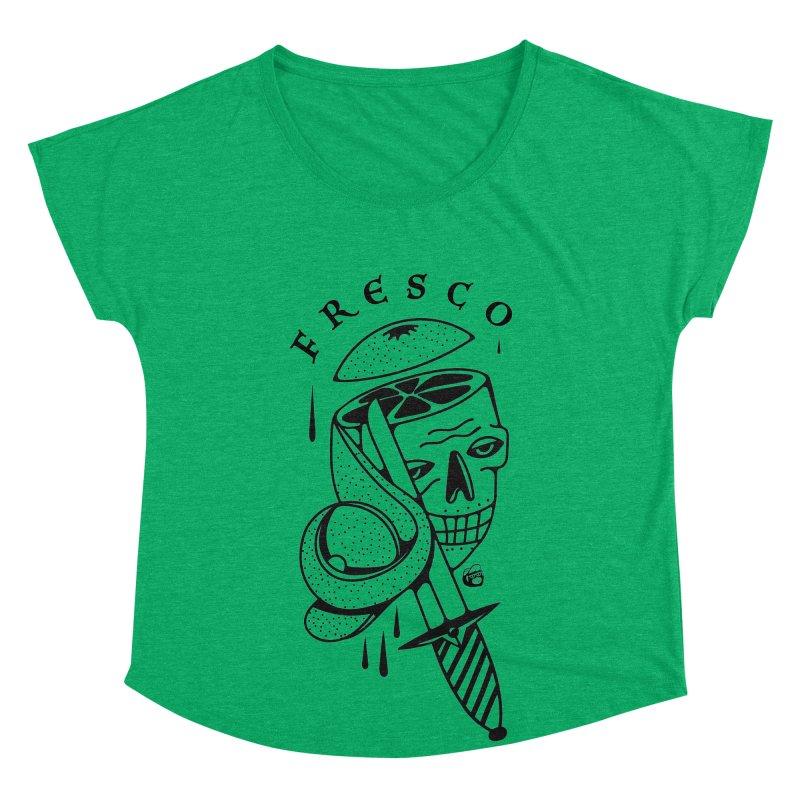 FRESCO Women's Scoop Neck by Mico Jones Artist Shop