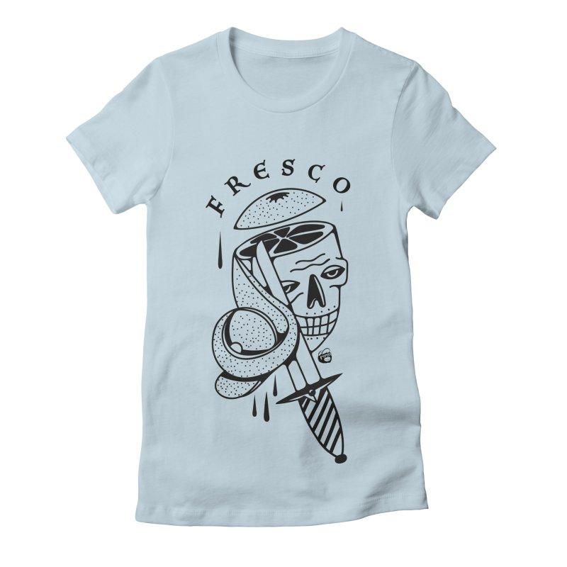FRESCO Women's Fitted T-Shirt by Mico Jones Artist Shop