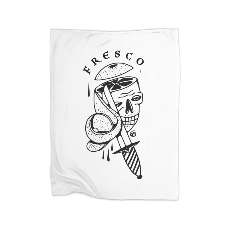 FRESCO Home Fleece Blanket Blanket by Mico Jones Artist Shop