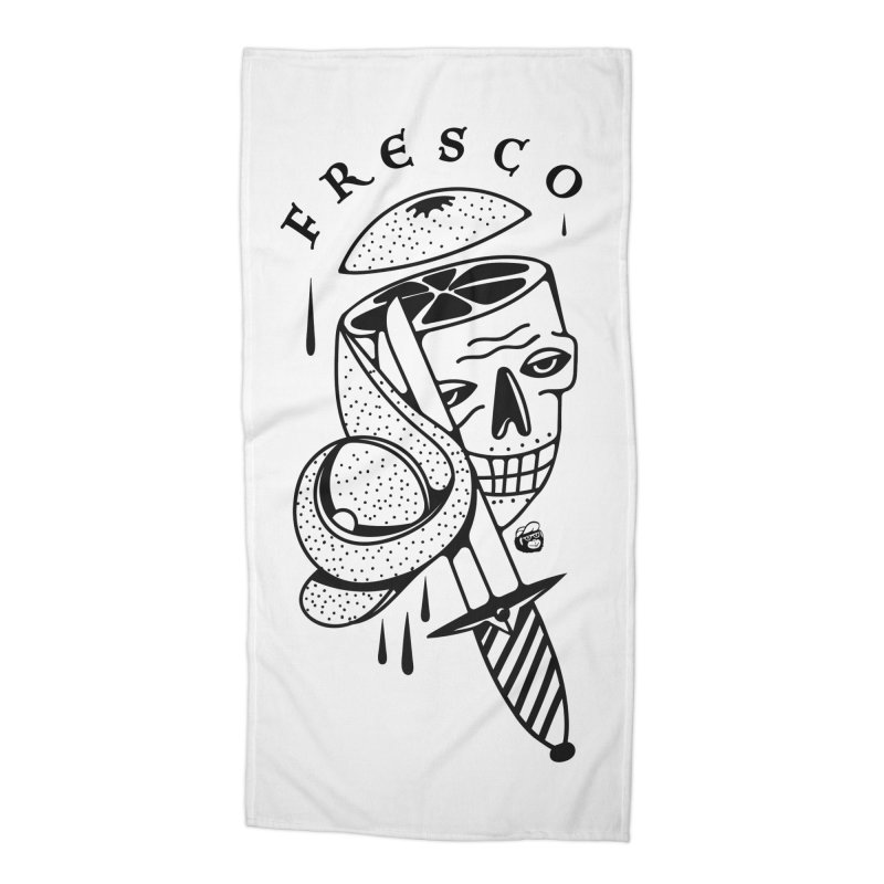 FRESCO Accessories Beach Towel by Mico Jones Artist Shop