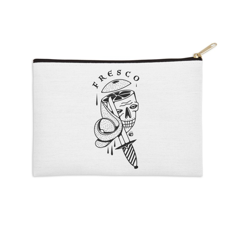 FRESCO Accessories Zip Pouch by Mico Jones Artist Shop