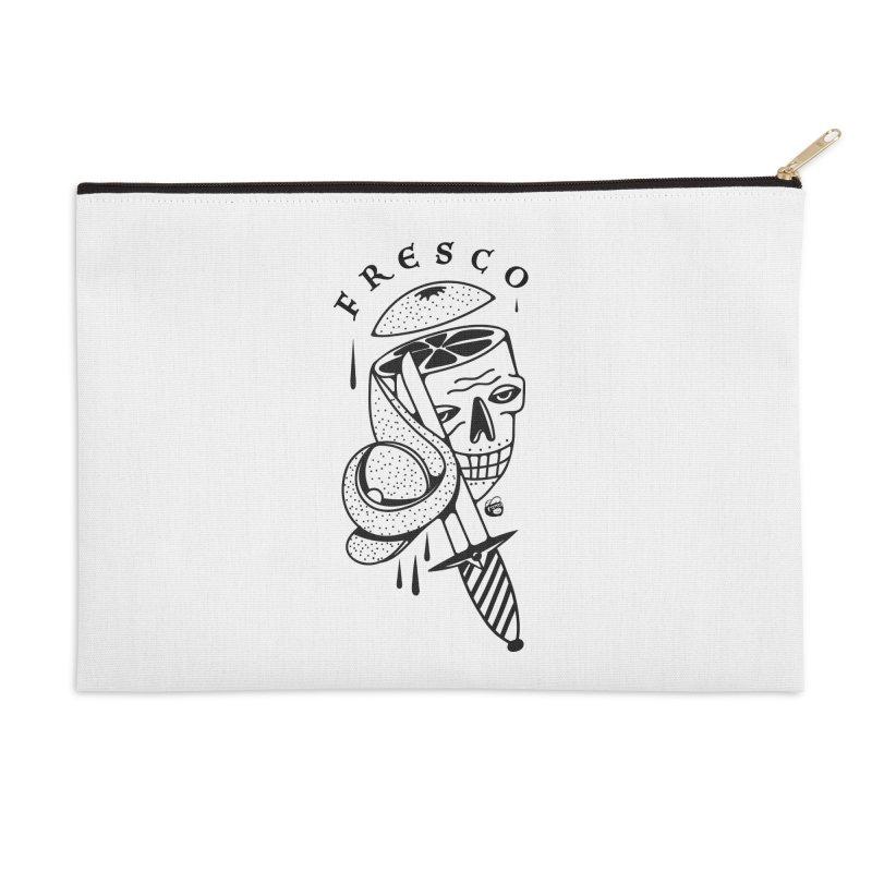 FRESCO Accessories Zip Pouch by Mico Jones Artist Shop