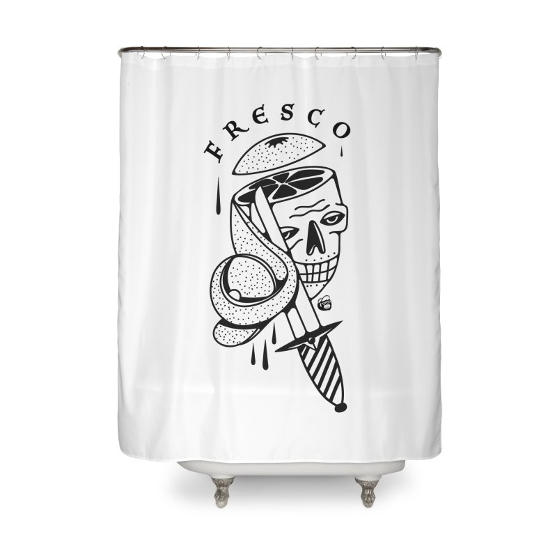 FRESCO Home Shower Curtain by Mico Jones Artist Shop