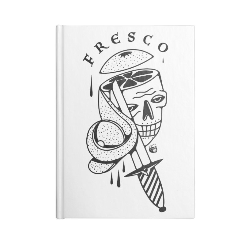 FRESCO Accessories Lined Journal Notebook by Mico Jones Artist Shop