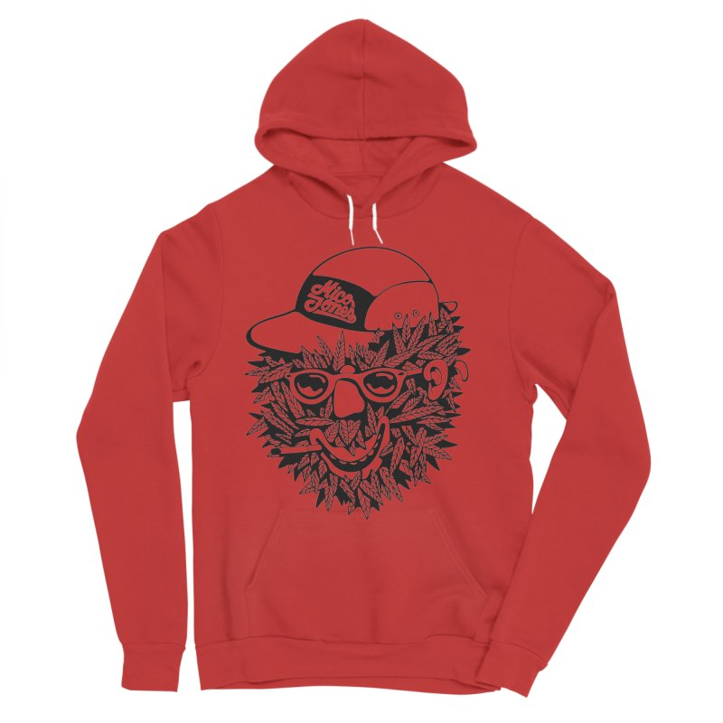 DOPE BUSH Men's Pullover Hoody by Mico Jones Artist Shop