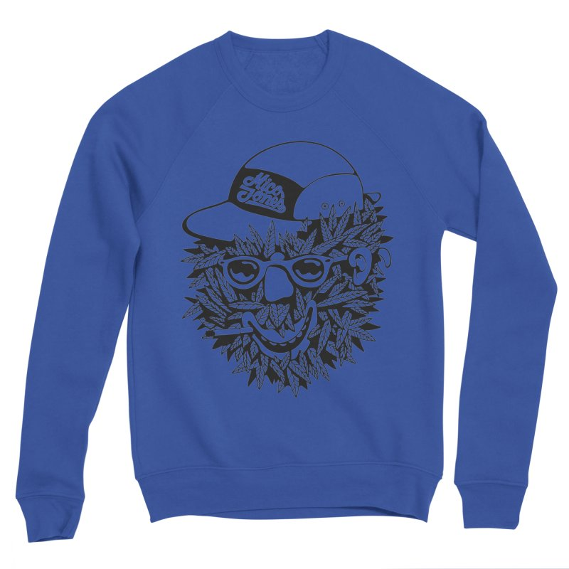 DOPE BUSH Men's Sweatshirt by Mico Jones Artist Shop