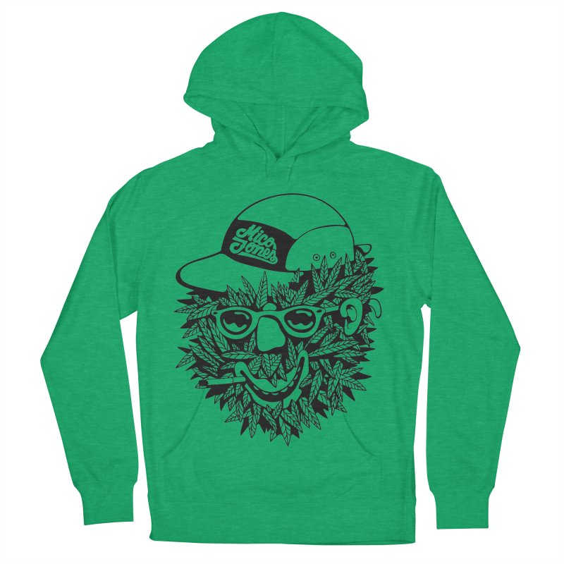 DOPE BUSH Women's French Terry Pullover Hoody by Mico Jones Artist Shop