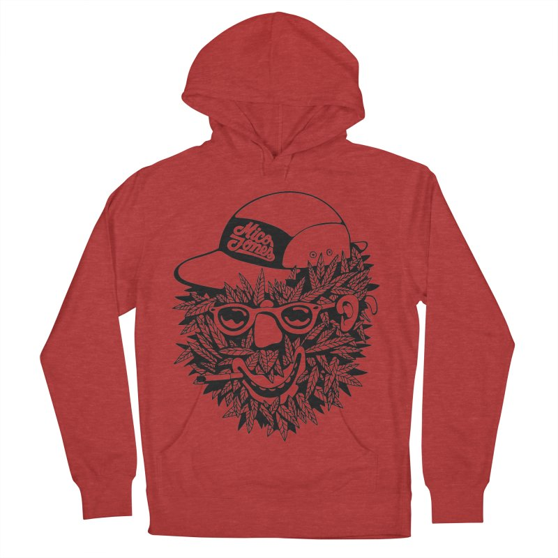 DOPE BUSH Men's French Terry Pullover Hoody by Mico Jones Artist Shop