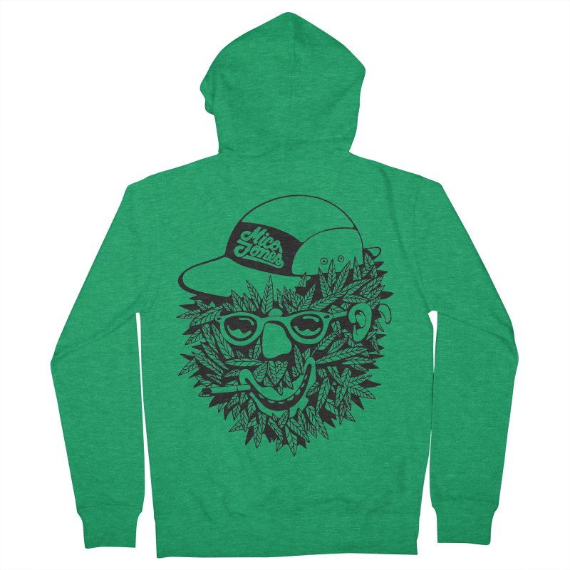 DOPE BUSH Women's Zip-Up Hoody by Mico Jones Artist Shop